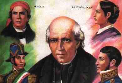HEROES DE LA INDEPENDENCIA DE MEXICO